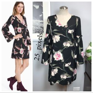 NWT WHBM floral bell dress Sz 2